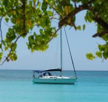 Sun Odyssey 37 : Au mouillage en Caraïbes